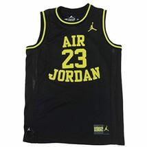 Nike Jordan Boys Youth Classic Mesh Jersey Shirt (M(10-12YRS), Black/V.G... - $27.85