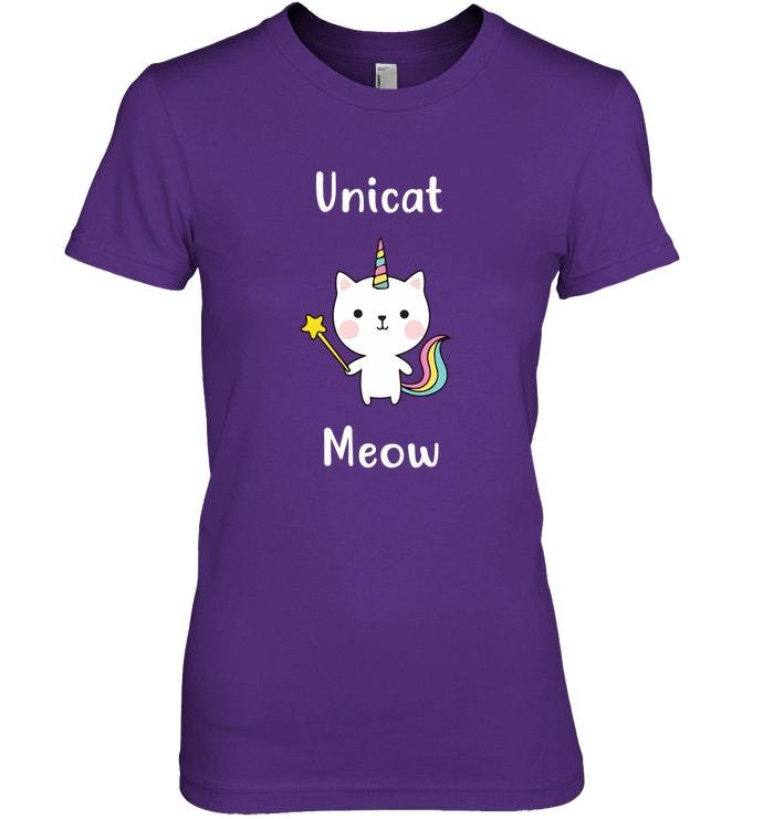 Kids Unicorn Kitten Apparel Top