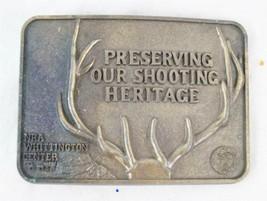 Vintage NRA Whittington Center Belt Buckle - $14.84