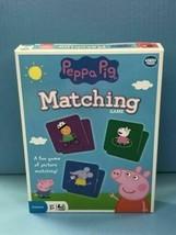 Wonder Forge Peppa Pig Matching game BRAND NEW! - $16.78