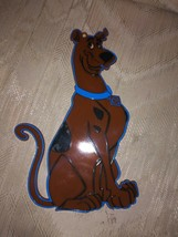 "Scooby Doo Cake Topper 10x6"" Bakery Crafts Hanna Barbera Brown Plastic Flat - $8.90"