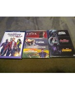 8 Marvel DVD Lot - THOR 3 Movie Collection Avengers 1-3 Trilogy Guardian... - $34.97