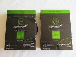 2 BOX LOT Espressotoria Decaf Medium Roast Coffee - 24 Capsules Pods Cups - $11.99