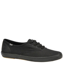 Keds WF59206 Women's Shoes Champion Sateen Black, 8.5 Med - $39.59