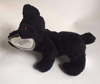 7b3a42ebefc ... Ty Beanie Baby Scottie 1996 Black Scottish Terrier 6
