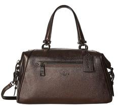 NWT Coach 37934 Bronze Leather Primrose Satchel - $187.12