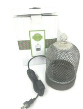 Scentsy Silver Birdcage Wax Element Warmer - $69.29