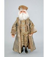 "katherine's collection Celebrations Santa Claus doll Gilded Seasons 24"" - $260.00"