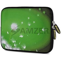 7.75-Inch Designer Neoprene Sleeve Case Pouch for Tablet, eBook - Green ... - $6.88