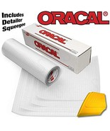 ORACAL Clear Transfer Paper Tape 15ft Roll w/Hard Yellow Detailer Squeeg... - $7.45