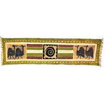 Fair Trade Handmade Batiked Fabric Table Runner... - $39.00