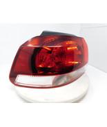 2010-2014 Volkswagen GTI Hatchback 4DR Driver Taillight Tail Light Lamp OEM - $86.39