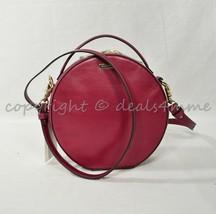 NWT Brahmin Lane Leather Shoulder / Crossbody Bag in Fuchsia Topsail - $239.00