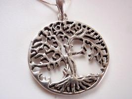 Medium Large Tree of Life Pendant 925 Sterling ... - $12.37