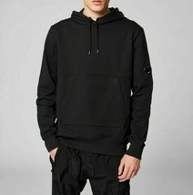 C.P.Company Men's Diagonal Fleece Goggle Pullover NEW AUTHENTIC Black 08... - $149.99