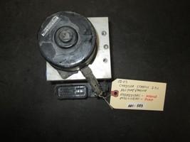 02 03 Chrysler Stratus 2.5L Abs Pump & Module #04602249AC,04764112AD - $118.80