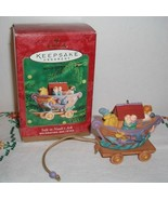 NMIB 2000 HALLMARK KEEPSAKE SAFE IN NOAH'S ARK RELIGIOUS CHRISTMAS ORNAMENT - $9.85