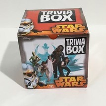 NEW Disney Star Wars Trivia Game Box with Chara... - $15.43