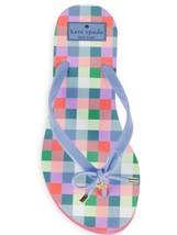 63310d80c Kate Spade Nib Nova Bow Flip Flop Sandals Bow Detail Rubber Size 8  Periwinkle -  35.00
