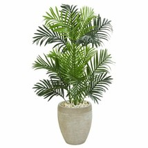 LuxurMulticolor  Paradise Palm Artificial Tree in Sand Colored Planter - 3.5 Ft. - $165.97