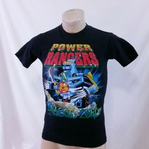 Vintage 90s Mighty Morphin Power Rangers T Shirt Dragonzord Single Stitc... - $149.99