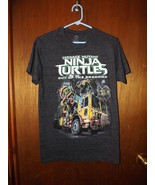 Teenage Mutant Ninja Turtles Mens Graphic T-Shirt - New - Black -  S - $8.54