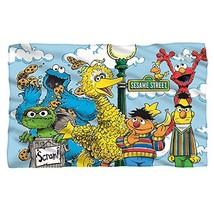 "Sesame Street Retro Gang Fleece Throw Blanket 36""x58"" - $38.44"