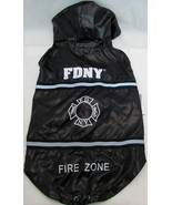 Dog Rain Coat WATER-RESISTANT FDNY FIRE DEPT DOG COAT Size XS, S, M, L,XL - $8.90+