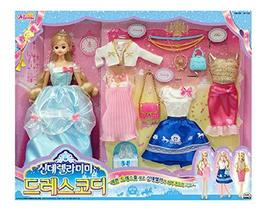 Mimi World Cinderella Mimi Dress Fashion Coding Costume Dress Up Toy Roleplay Pl