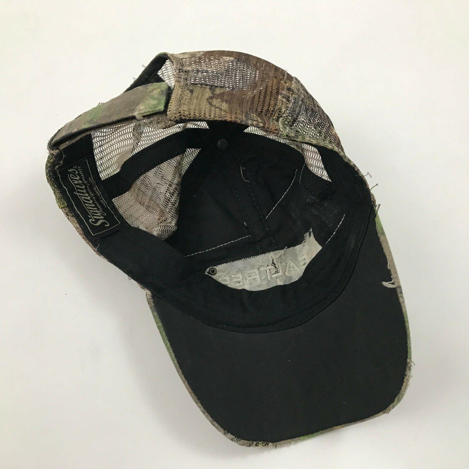 Realtree Camouflage Sangle à L'Arrière Trucker Hat Délavé Casquette Baseball