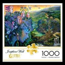 Josephine Wall 1000 Glitter Edition Jigsaw Puzzle A Parliament of Owls NIB - $28.45