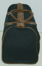 Mainstreet Collection CDBK1588 Canvas Duffle Bag Colors Black and Brown image 2