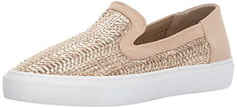 Steven Steve Madden Kenner Casual Sneaker Metallic Rose Gold Slip-On Sho... - $79.00