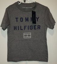 Tommy Hilfiger Boys Size 4-7 Grey Heather T-Shirt - $13.57