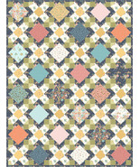 Summer Waltz Sunlit Blooms Quilt Kit 72 Inches x 96 Inches - $152.96