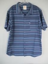 Levi's Boy's Size XXL 2XL Short Sleeve 100% Cotton Button-Front Shirt w/ Pocket - $20.80