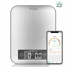 Muzili Smart Kitchen Scale with Nutritional Calculator and Timer, 3 in 1... - $43.73