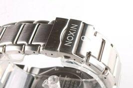 Nixon A397-000 Le Tangent Noir et Argenté Ton Acier Inoxydable Homme Montre image 7
