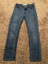Levis 511 Slim Size 12 Reg 26x26 Stretch Waist Easy Button - $19.79