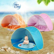 Baby Kids Sun Shade Pop Up Beach Tent Waterproof Pool UV Play Outdoor Ca... - $34.97
