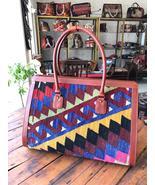 kilim travel bag,wool and Leather kilim bags,women's bag travel bags, Bags - $450.00