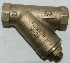 Legend Valve 3/4 Inch Y Strainer Female End Connection 105-504NL image 1