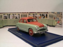 TAXI SIMCA RONDE VOITURE TINTIN CARS CALCULUS AFFAIR EDITIONS ATLAS 1/43 NEW