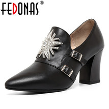 FEDONAS Basic Model Heel Shoes Wedding Pumps S Pointed Lady High Toe Sexy Women IURqrXOI
