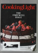 Cooking Light - December 2018 - The Farewell Issue, Chocolate & Cream La... - $1.18