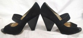 Michael Kors Black open Toe Heels Size 7  - $29.69