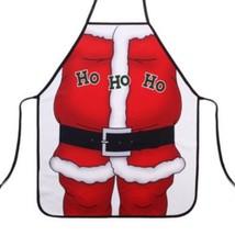 Santa Claus Apron Creative Party Sexy Gift - $13.85