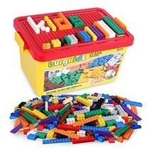 Building Bricks 520 Pieces Set, 500 Basic Building Blocks in 10 Classic ... - $24.71