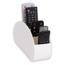 Homeze Remote Control Holder (White) - TV - 5 pocket - included GIft Box... - $21.99