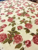 Floral Garden Party Contemporary Print Upholstery Drapery Fabric 3.875 yds - $55.22
